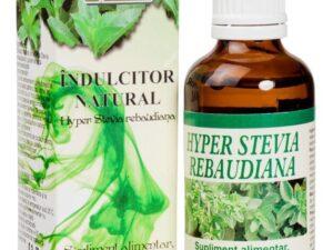 Hyper Stevia Indulcitor Lichid Natural Hypericum 50ml