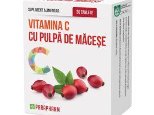 Vitamina C + Pulpa De Macese Quantum Pharm 30tb