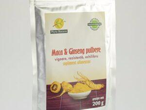 Pulbere De Maca Ginseng Phyto Biocare 200g