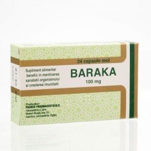 Baraka 100mg Pharco 24cps