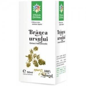 Branca Ursului Extract Hidroalcoolic Steaua Divina 50ml