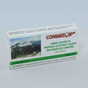 "Conimed ""SP"" Supozitoare Propolis Rasina Elzin Plant 10x1.0g"