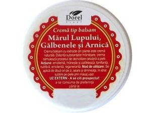 Crema Marul Lupului, Galbenele si Arnica Dorel Plant 100g