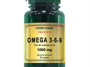 Omega3*6*9 - Ulei Seminte De In Cosmo Pharm 1000mg 30cps