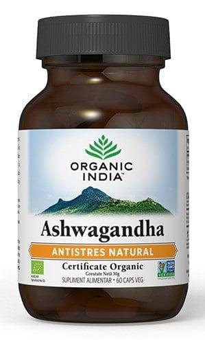 Ashwagandha   Antistres Natural Organic India 60cps