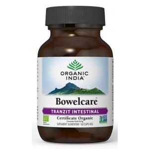 Bowelcare | Tranzit Intestinal, Combate Balonarea Organic India 60cps