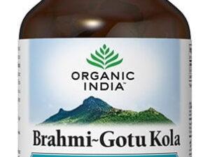 Brahmi~Gotu Kola | Pentru Creier & Sistemul Nervos si Deficit de Atentie Organic India 60cps
