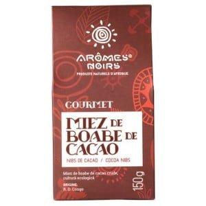 Miez de Boabe de Cacao Aromes Noir Gourmet 100g
