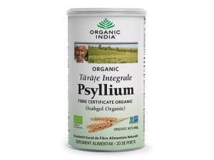 Tarate de Psyllium Integrale, 100% Organic India
