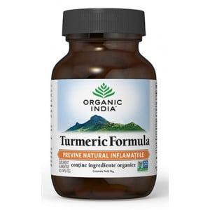 Turmeric Formula | Antiinflamator Natural Organic India 60cps