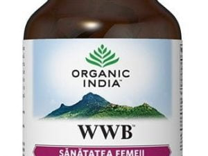 WWB | Sanatatea Femeii, Sindrom Premenstrual Organic India 60cps