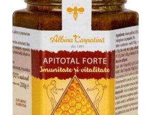 Apitotal Forte Albina Carpatina 200g - Imunitate si Vitalitate