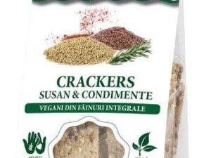 Crakers Vegani cu Susan si Condimente Hiper Ambrozia 125g