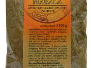 Garam Masala Amestec de Condimente Indiene Herbavit 100g