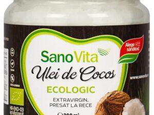 Ulei de Cocos Ecologic Sanovita 200ml