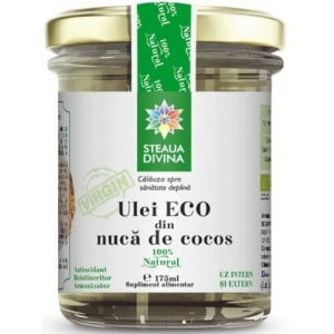 Ulei de Cocos Eco Steaua Divina 175ml