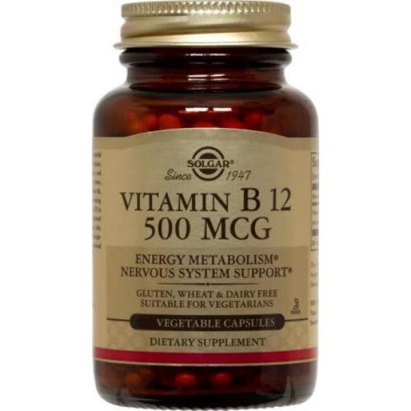 Vitamina B-12 500mg Solgar 50cps