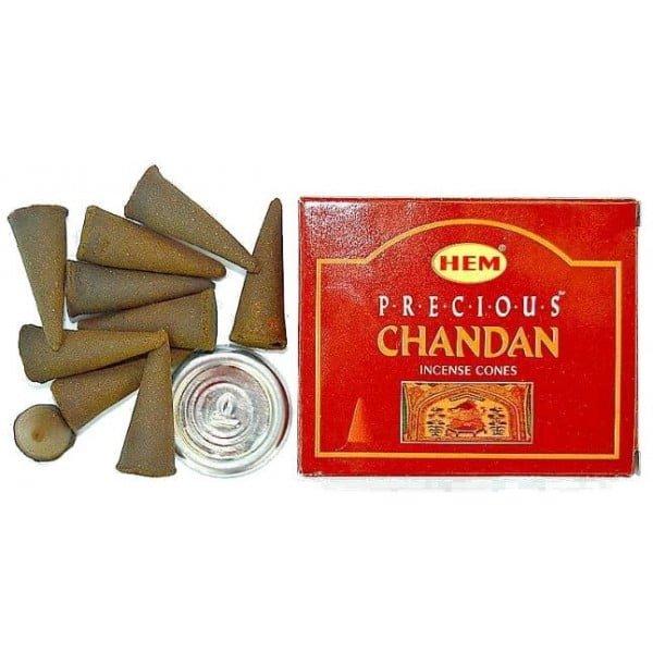 Conuri Parfumate Chandan Palo Santo 10buc