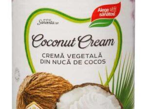 Crema Vegetala din Nuca de Cocos Sanovita 400ml