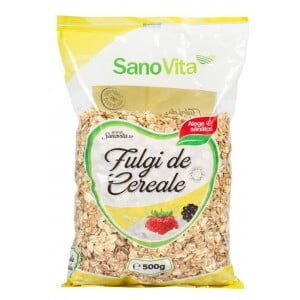 Fulgi de Cereale Sanovita 500g