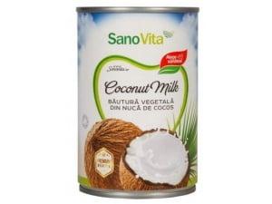 Lapte de Cocos Sanovita 400ml