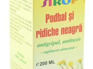 Sirop Podbal + Ridiche Neagra Pontica 200ml