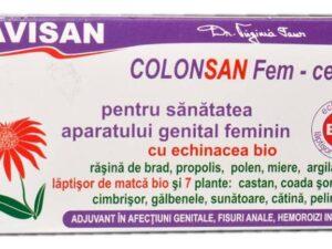 Colonsan Fem-Cerat Supozitoare Favisan (10X1.9) 19g