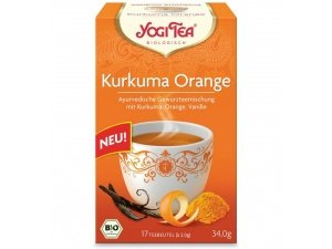 Ceai Bio Kurkuma Orange YOGI TEA